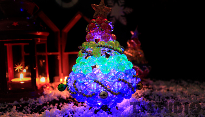 PAR.T彩虹商品/六彩商品/彩虹聖誕樹/手作聖誕樹/燈飾/手工藝品