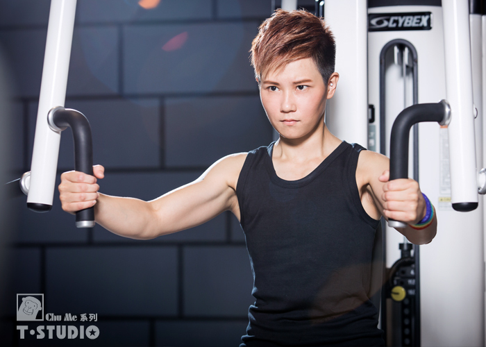 【T-STUDIO】CHU ME系列/100%純棉舒適/中性滾邊/吊嘎束胸內衣