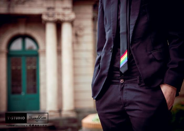 PAR.T彩虹商品/六彩商品/領帶/手打領帶/彩虹領帶